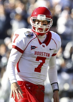 Case Keenum will no longer be under center for the Cougars