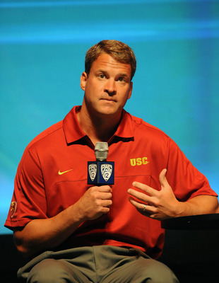 Head coach Lane Kiffin