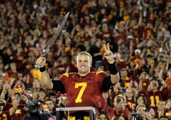Matt Barkley will dominate all of college football this year, picking apart any defense at will