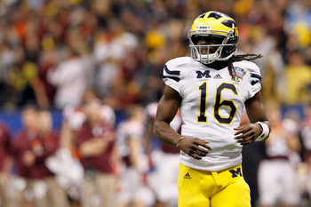 Michigan QB Denard Robinson must beat Michigan State in the Big House this year if the Wolverines are to have any chance to return to a BCS game in 2012.