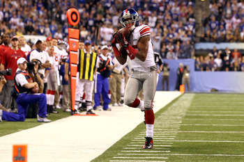 Mario Manningham made a game-changing catch to help the Giants win the Super Bowl