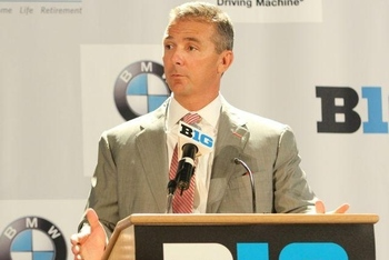 Urban Meyer at Big Ten Media Days
