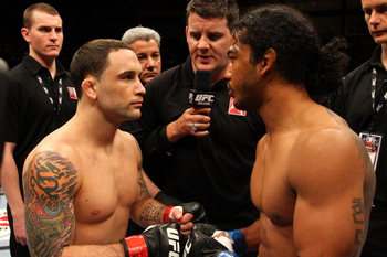 Ben Henderson and Frankie Edgar are the two best lightweights in the business right now, and will face off for the belt at UFC 150. Photo by Al Bello/Zuffa LLC/Zuffa LLC via Getty Images.