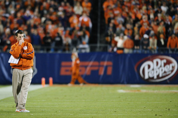 If the Tigers fail to defend their ACC title, Swinney could feel some heat about his future in Clemson.
