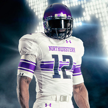 Under Armour's First Northwestern Uniform