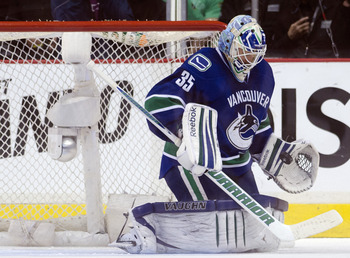 It appears Cory Schneider is the man in Vancouver.
