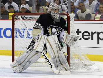 Fleury was terrible in the first-round loss to the Flyers.