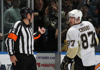 "Some fans view Crosby as a ""spoiled brat."""