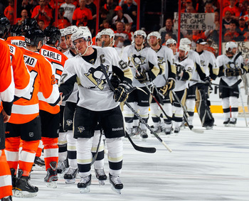The Pens can't match the Flyers' firepower.