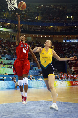 Australia and the U.S. from the gold medal game in Beijing 2008.