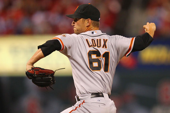 Shane Loux can help keep the bullpen fresh