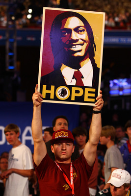Fans are anticipating the play of the quarterback of the Redskins, Robert Griffin III