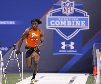 Griffin had one of the fastest combine times at the NFL Combine.
