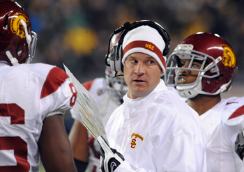 USC Trojans coach Lane Kiffin