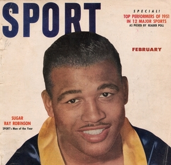 Sport February 1952 Boxing Cover Magazine