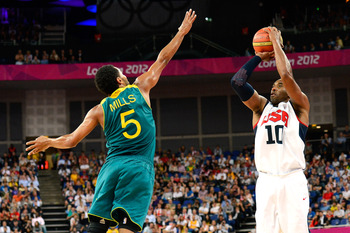 Mills and the rest of the Aussies couldn't do anything to stop the Kobe onslaught.
