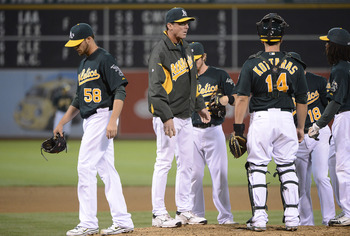 Manager Bob Melvin has been brilliant in 2012