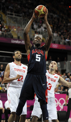 Durant too much for Tunisian defenders