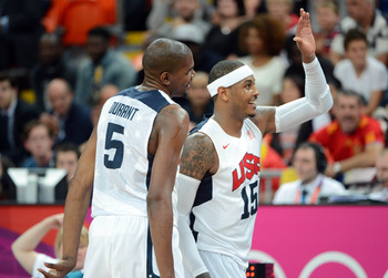 Durant overshadowed by Melo