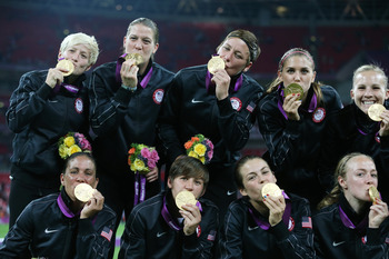 USWNT Tastes Gold