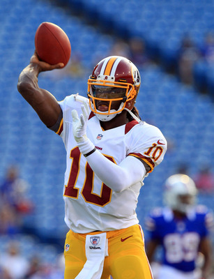 RGIII looked sharp in his NFL debut.