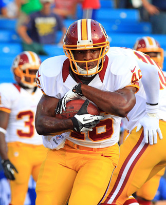 Alfred Morris ran well with the third string on Thursday.