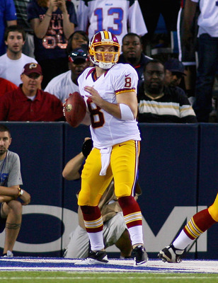 Rex Grossman struggled against Buffalo's second-string.