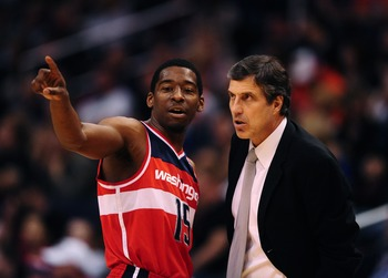 Randy Wittman and Jordan Crawford