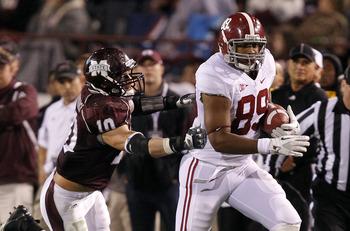 Williams has evolved into a complete tight heading into his fifth year at Alabama.