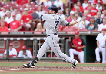 San Diego Padres third baseman Chase Headley was Oakland's fall back option after Hanley Ramirez.