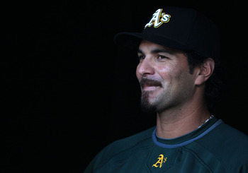 Former A's third baseman Eric Chavez landed a rare mega-deal then became frequently injured.