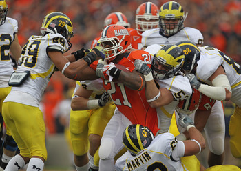Michigan will continue to improve rush defense, nearing the top in the Big Ten in 2012