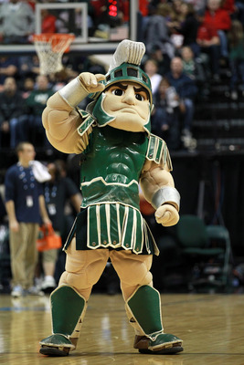 Sparty's four-year party comes to an end in 2012