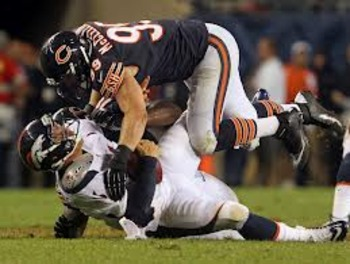 McClellin was tied for third in tackles against Denver.