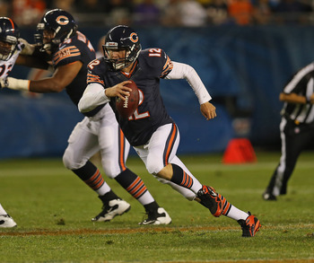 Josh McCown was the second quarterback used in tonight's game.
