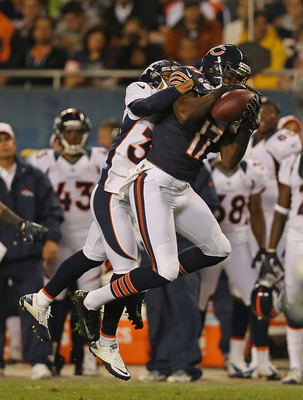 Alshon Jeffery was the Bears' leading receiver last night.