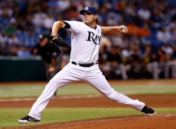 Like the rest of the Rays' starting rotation, Matt Moore is on a roll right now