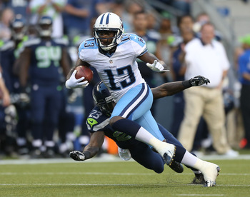 Kendall Wright makes catch in first preseason game