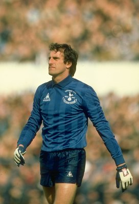 1982:  Portrait of Tottenham Hotspur Goalkeeper Ray Clemence during a match. \ Mandatory Credit: David  Cannon/Allsport