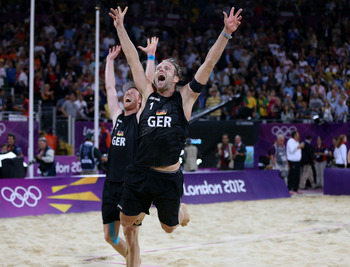 Julius Brink and Jonas Reckermann earned a beach volleyball title.
