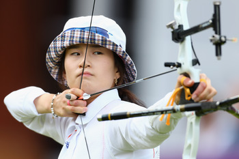 Ki Bo-Bae helped lead an impressive archery effort.