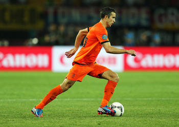 The Dutch striker is in demand