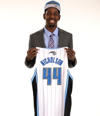 Orlando's first pick under new management.