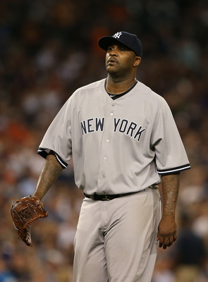 Sabathia's elbow is a concern.