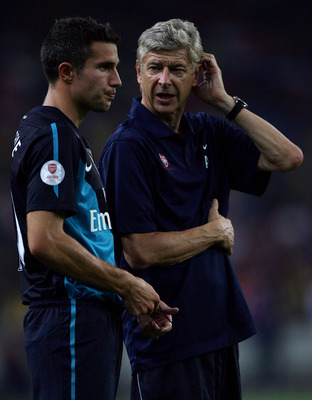 van Persie and Wenger; together forever?