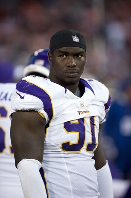 Vikings defensive end D'Aundre Reed