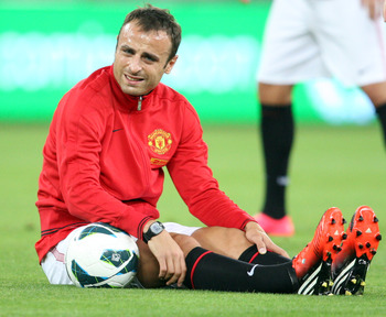 Would berbatov be ok being Ibra's backup?