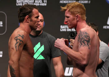 Jake Shields returns to middleweight to face Ed Herman. Photo by Josh Hedges/Zuffa LLC/Zuffa LLC via Getty Images.