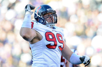 Defensive End J.J. Watt
