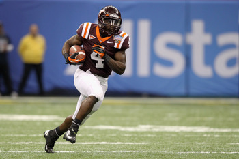 The loss of David Wilson will be felt by Virginia Tech this year.